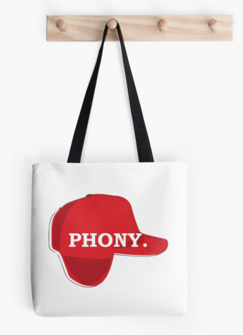 Phony Tote  from  Redbubble