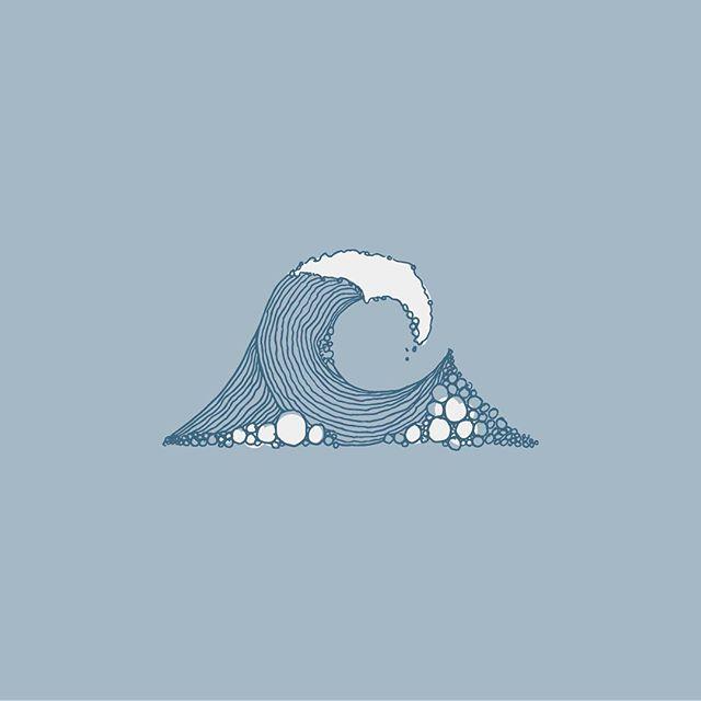 🌊🌊🌊 just keep swimming . . . #fearlessartchallenge #fearlessart #drawing #illustration #adobecapture #waves