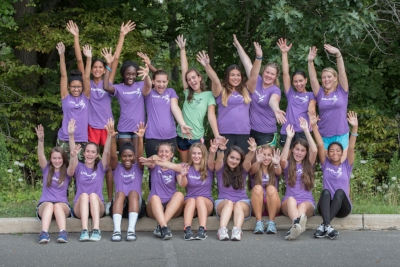 High school mentors serve as positive role models for middle school girls.