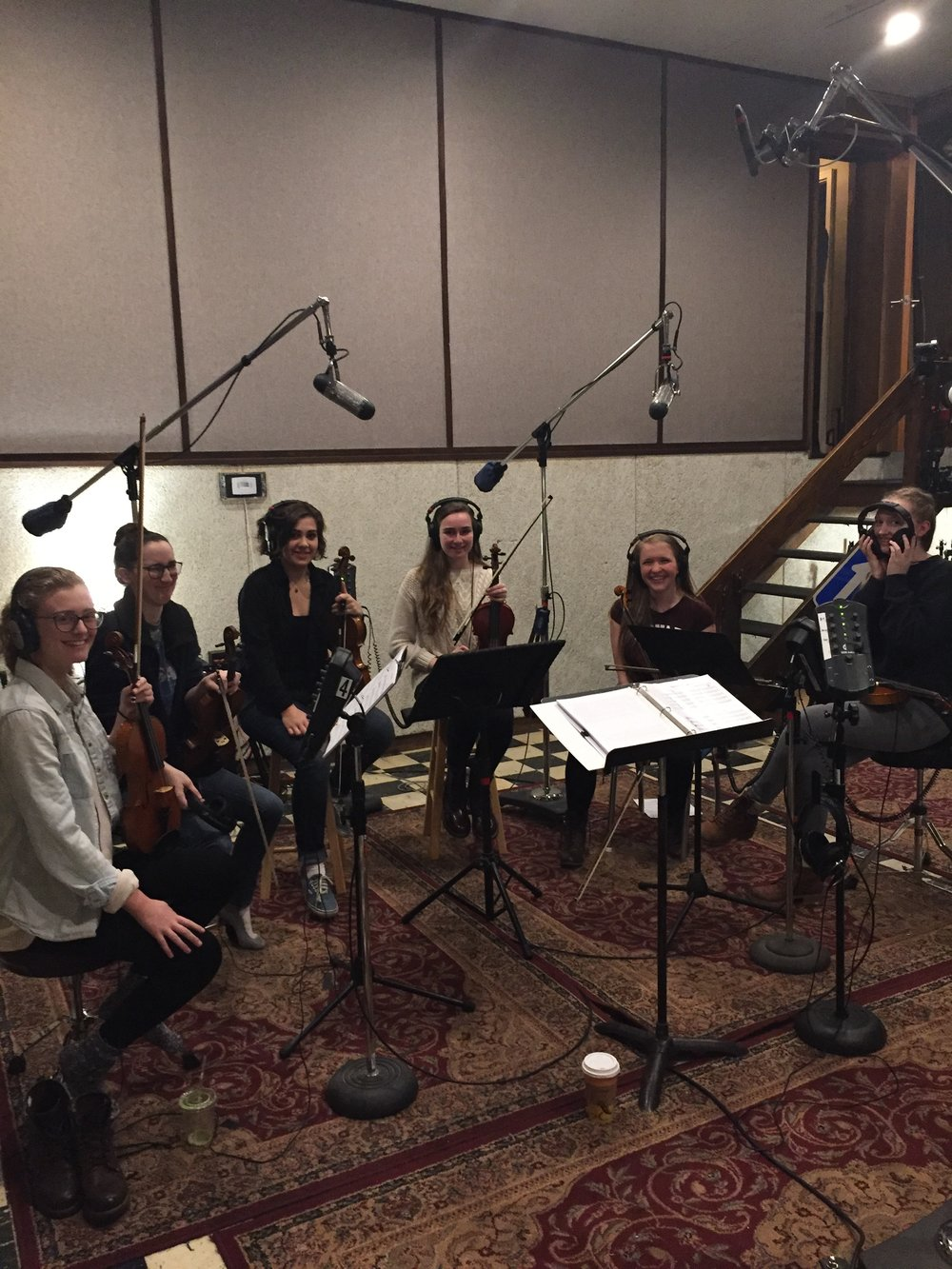 MYRO went down to Jamaica Plains in Boston, MA to record a 3-song EP at Dimension  Sound Studio with The Ballroom Thieves and engineer Dan Cardinal.