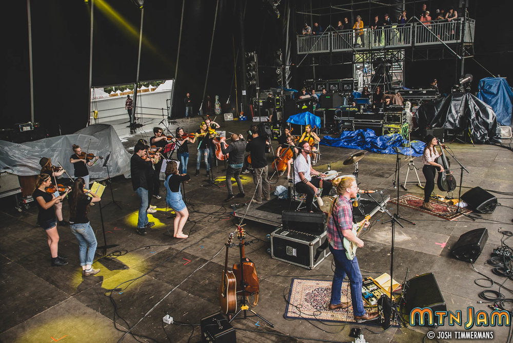 Performed on the Main Stage at Mountain Jam Festival with The Ballroom Thieves. Other artists featured on this stage are The Avett Brothers, Brandi Carlile, Michael Franti and many more.