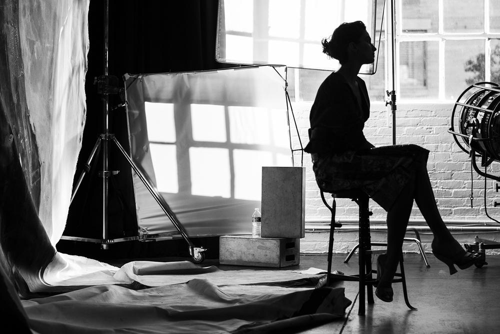 Andreea Diaconu  Donna Karan Spring 2015 Campaign