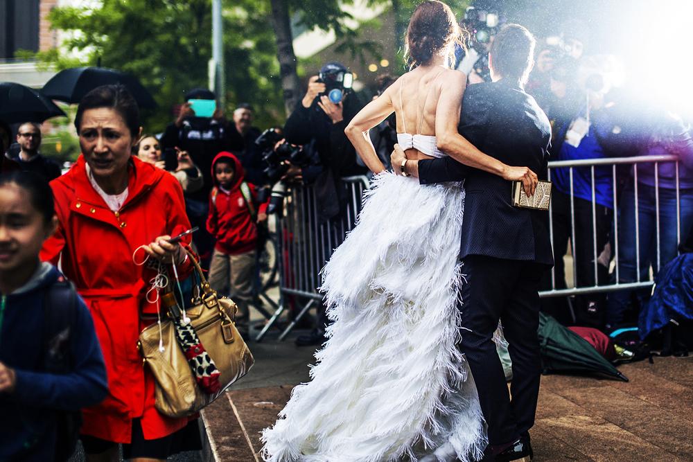 Juliette Lewis & Christian Siriano, 2015
