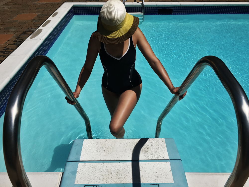 Nicole, Poolside, 2016
