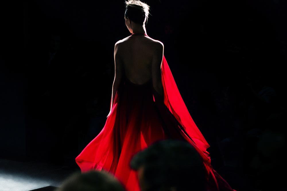 Karle Kloss  Donna Karan Fall 2014 Show