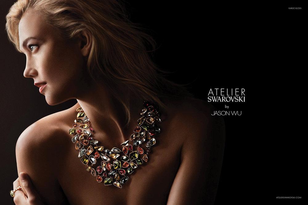 Karlie Kloss  Atelier Swarovski by Jason Wu Fall 2017 Campaign