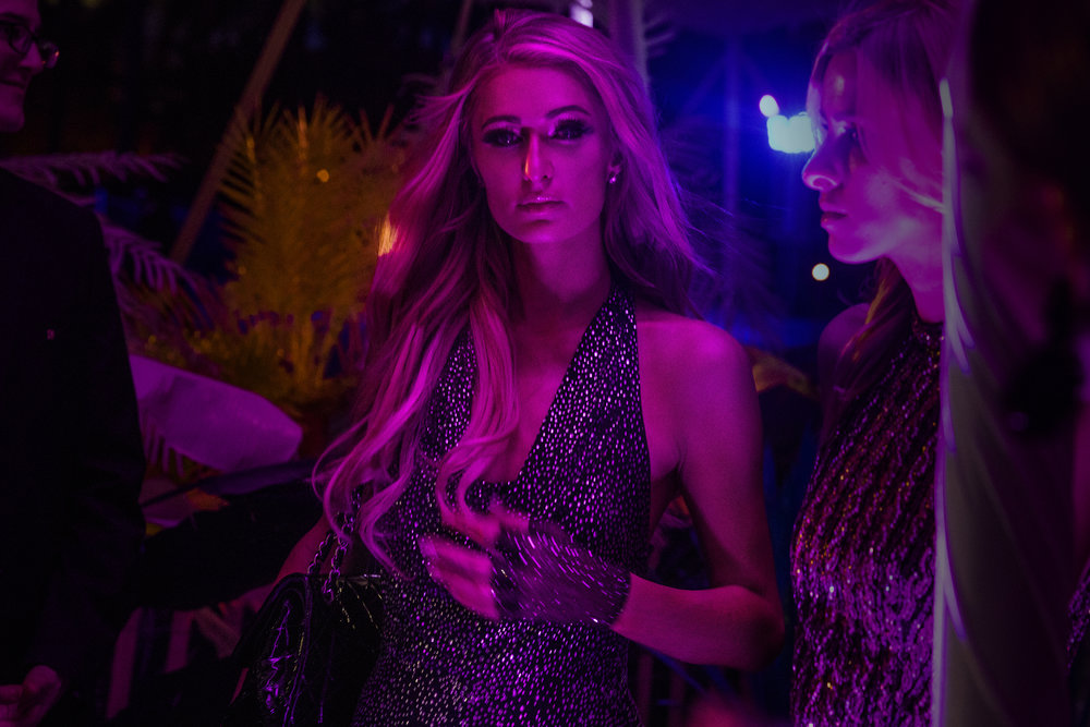 Paris Hilton  CR Fashion Book x Perrier Jouet, 2018