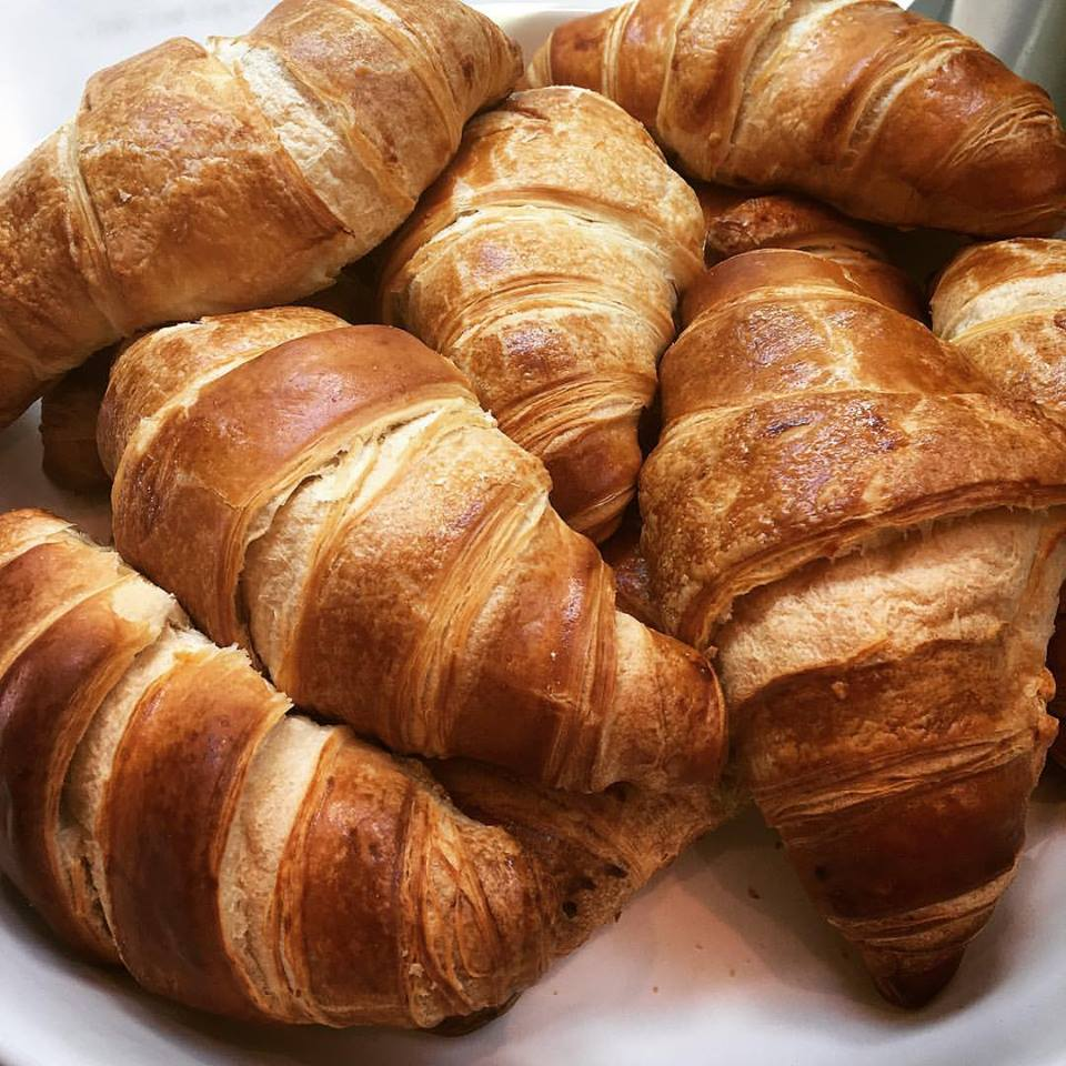 Fresh crouissants baked in-house!