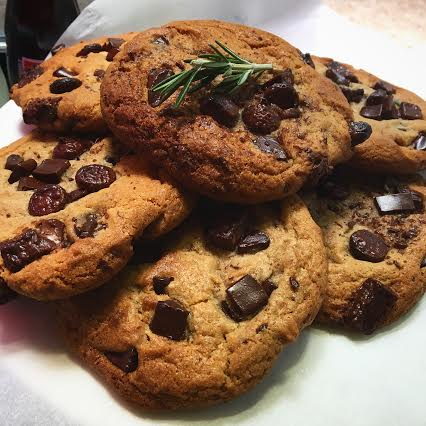 Fresh-baked chocolate chunk cookies!