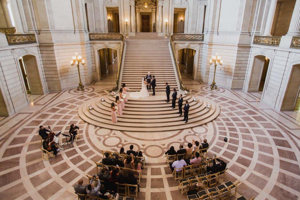 Copy of San Francisco City Hall reception