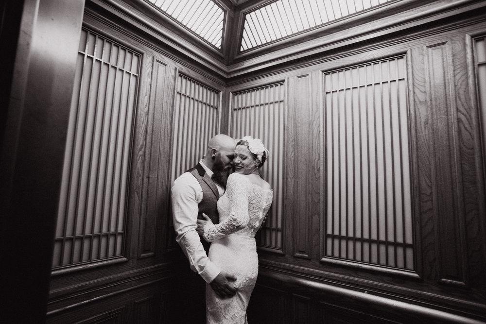 Copy of San Francisco City Hall elevator