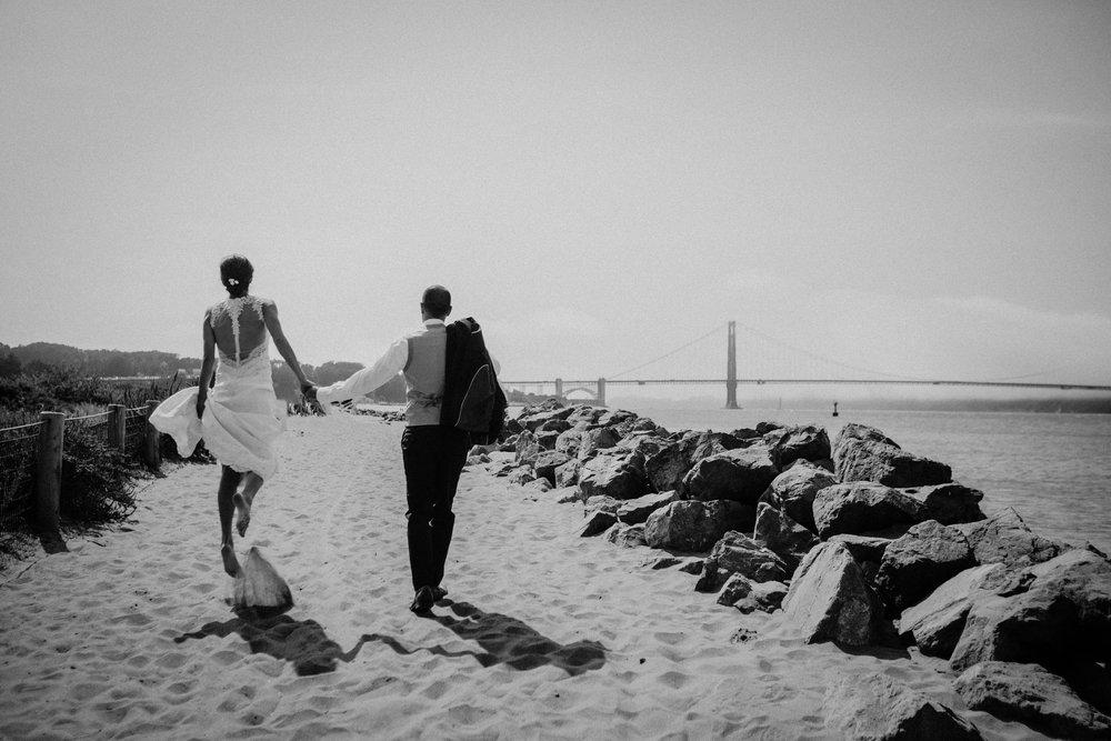 Copy of Beach wedding Golden Gate