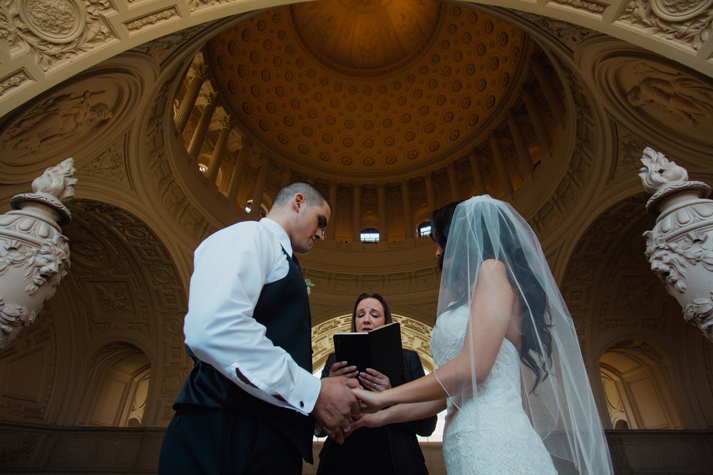 Copy of 4th floor ceremony at San Francisco City Hall wedding