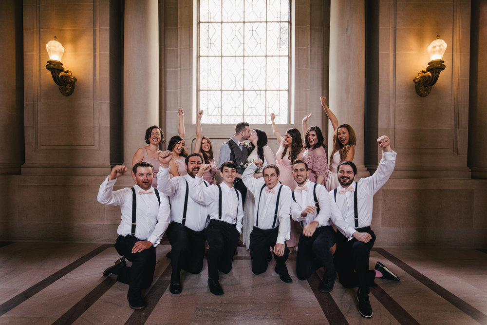 Copy of Group photo at San Francisco City Hall