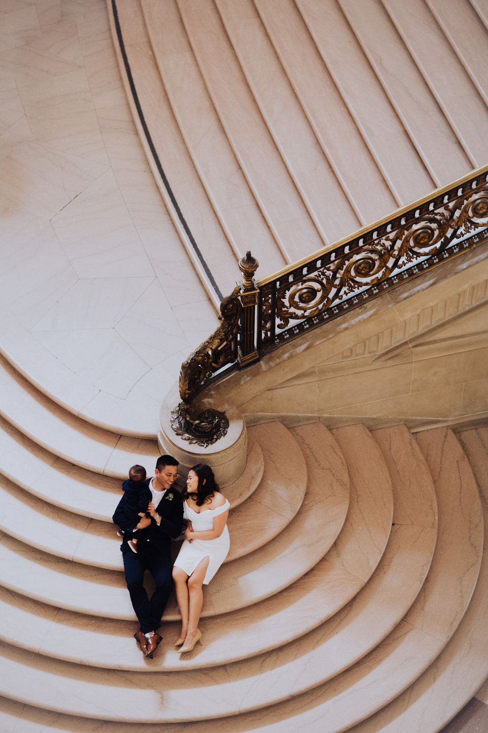 SF City Hall photo - the grand Stairwell