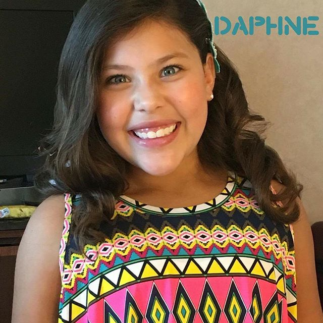 Daphne is ready to rock the stage this weekend with her new Unity Smile. We 💜 it, don't you?  #unitysmile #pageantflipper #pageantsmile #shareyoursmile