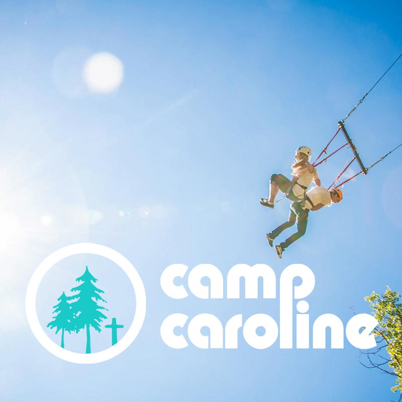 CAMP CAROLINE      PARTNERSHIP PACKAGE.     BRAND & IDENTITY, WEB, VIDEO, APPAREL, EXHIBITS, DIGITAL & PRINT ADS, MARKETING STRATEGY.