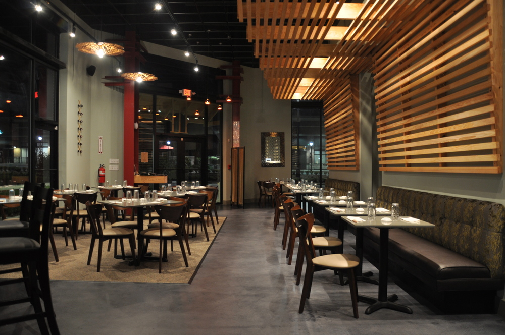 TAKA Sushi Restaurant  Jeffrey Bruce Baker Designs and JBB Architects and  Interior Designers