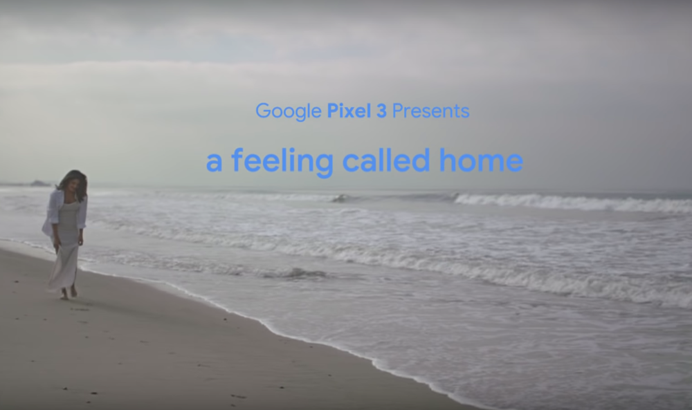 A Feeling Called Home - Google. Pixel 3.Branded Short Film. Linear. Digital.40 million+ views on YouTube. This short film is an intimate narrative starring Priyanka Chopra. The video celebrates how technology inspires, unites and keeps us all connected.