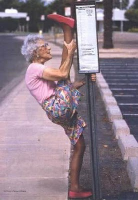 oldwomanstretching