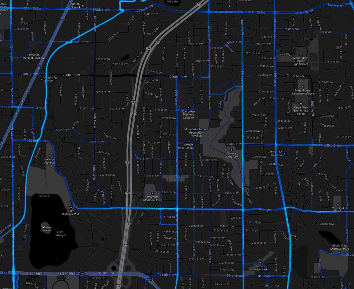bikingruningmap