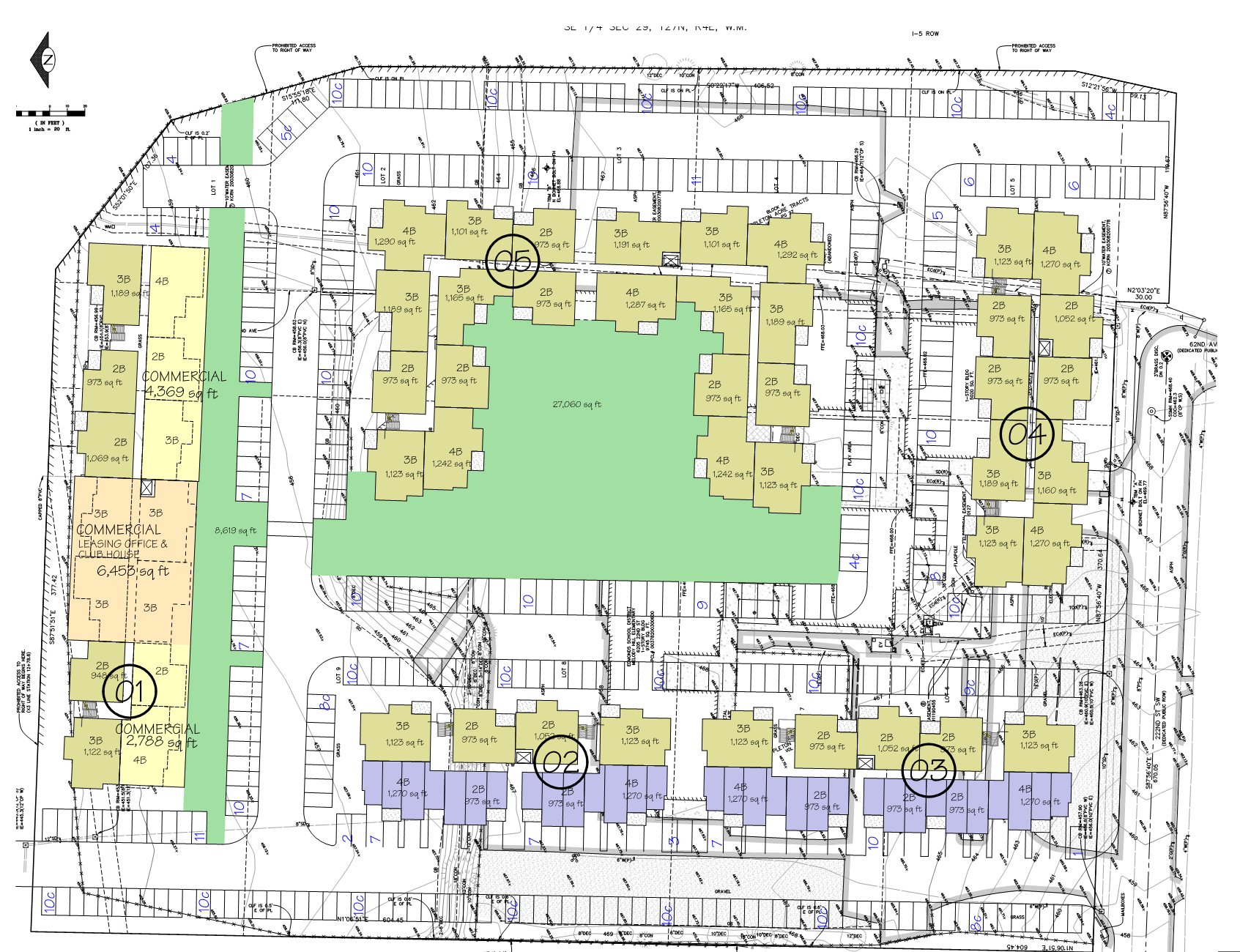 298 multifamily residential units planned for melody hill site