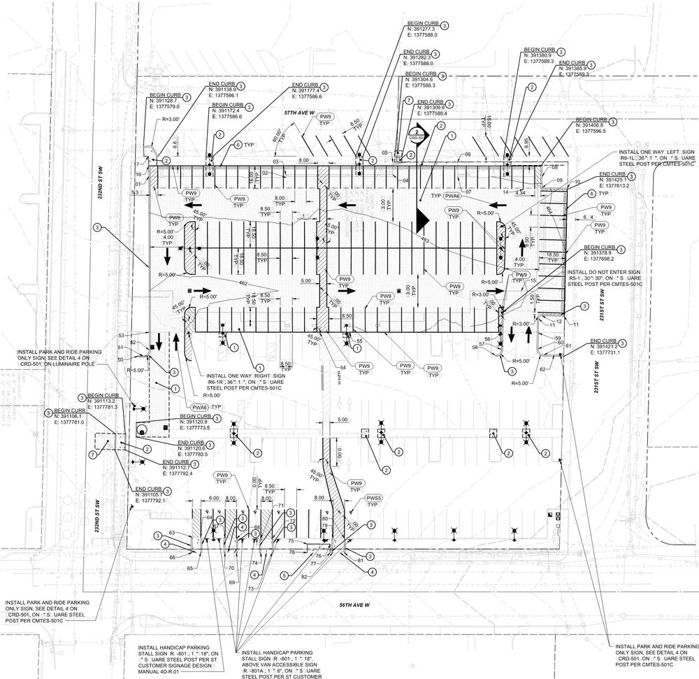 Former Roger's Market property site plan