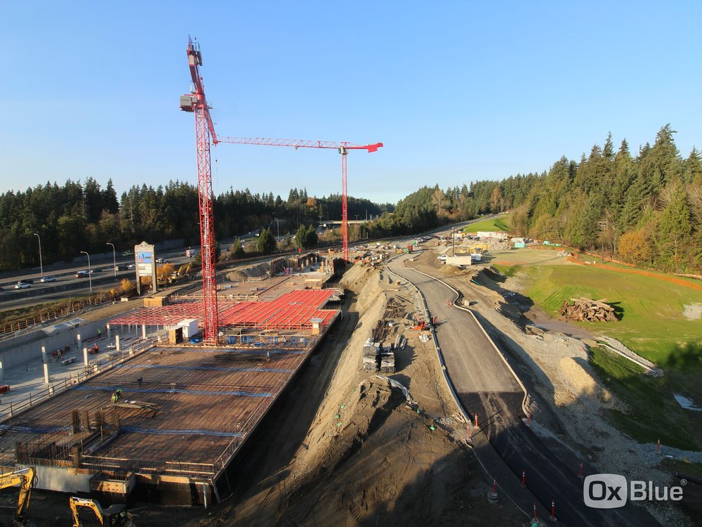 November 19 image from the contractor's web cam