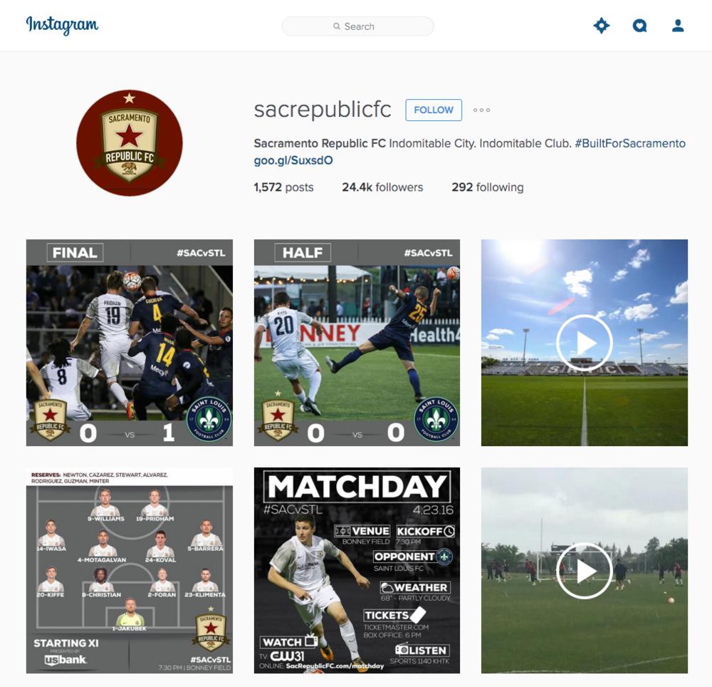 Republic FC Instagram page.