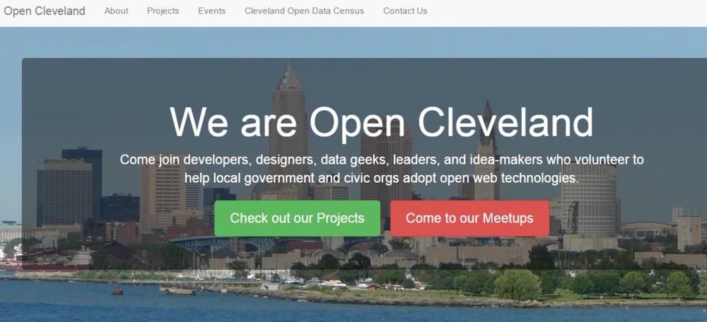 Open Cleveland | Code for America Brigade