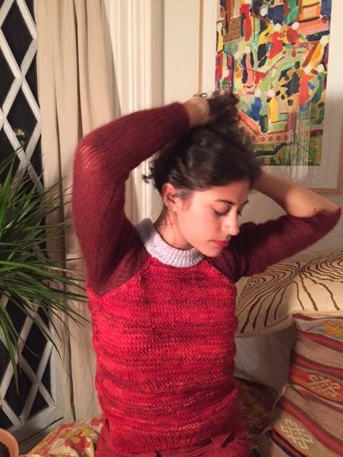 Pomegranate Sweater