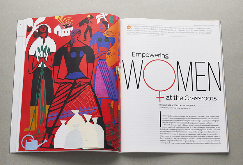 Empowering women at the grassroots