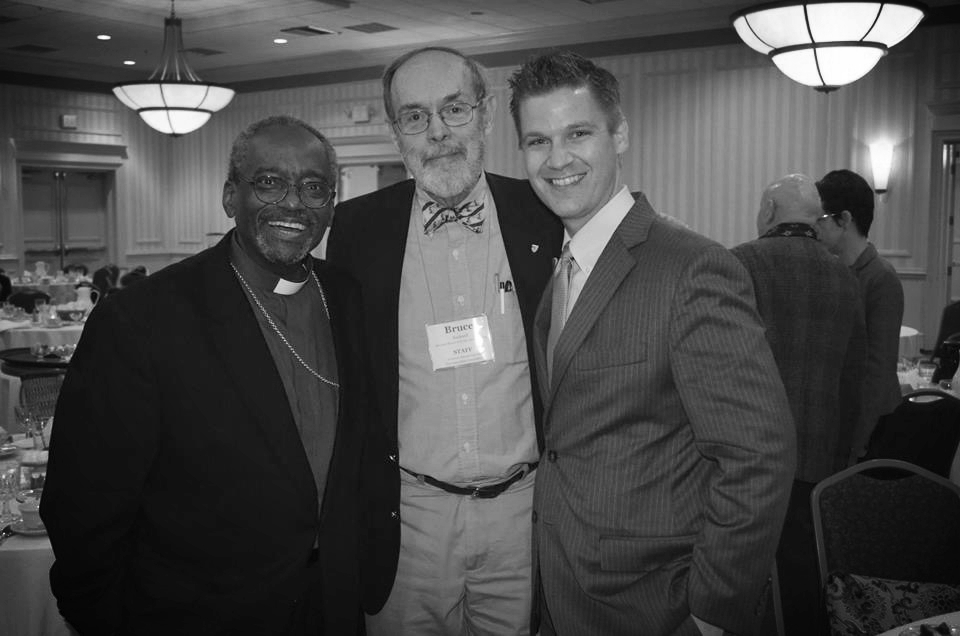 New friends from keynote opportunity at the Northeast Eccumenical Stewardship Conference, Boston, April 2015