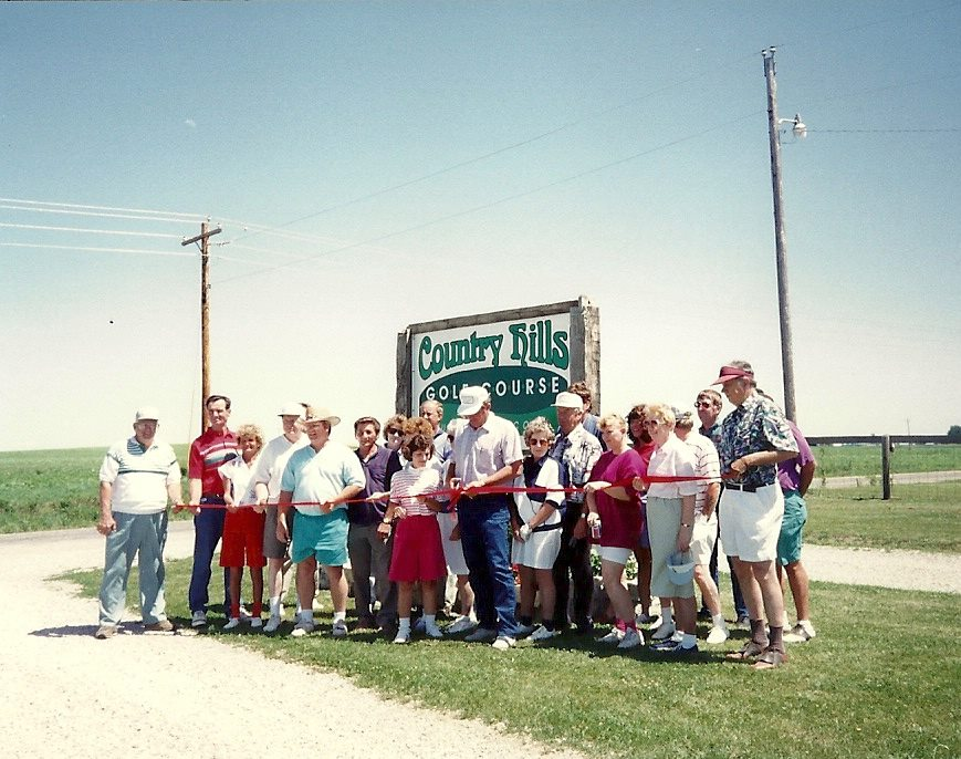 Country Hills Golf Course Ribbon Cutting - 1993