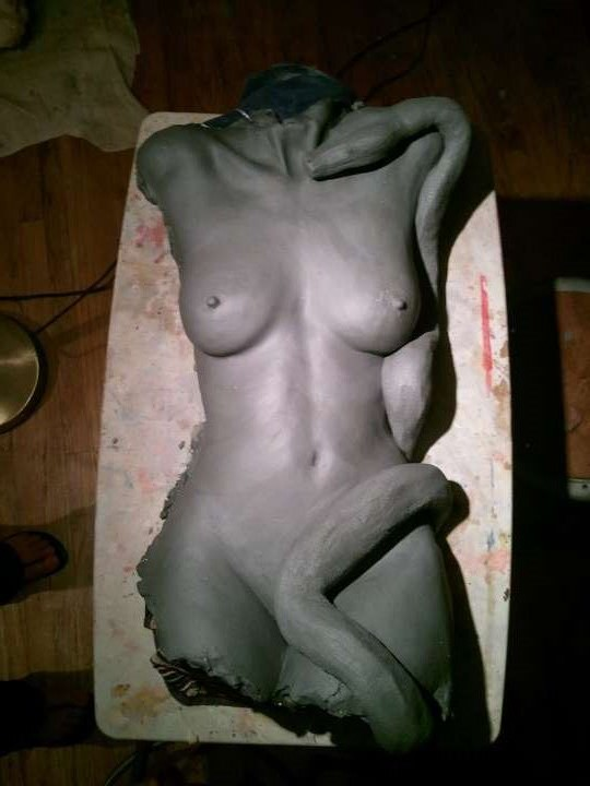 Eve Nude Figure