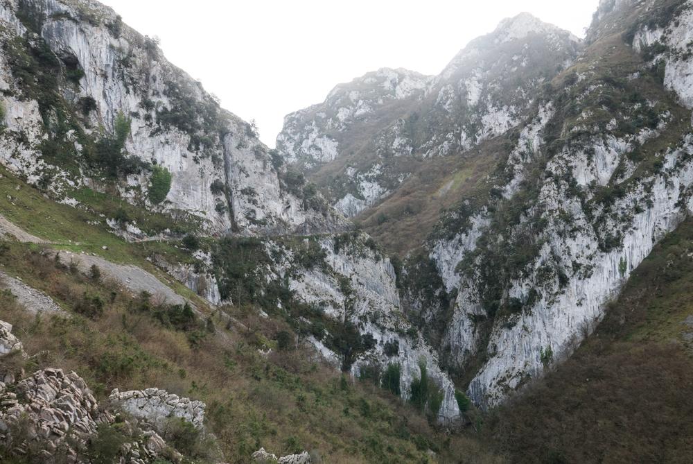Las Xanas gorge