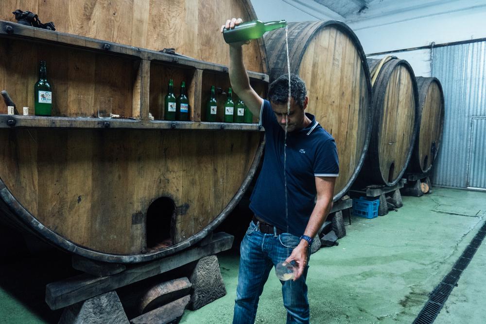 Sidra Frutos, an Asturian cider house