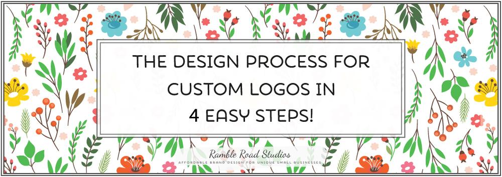 Ramble Road Studios Custom Logo Design Process in 4 Easy Steps!