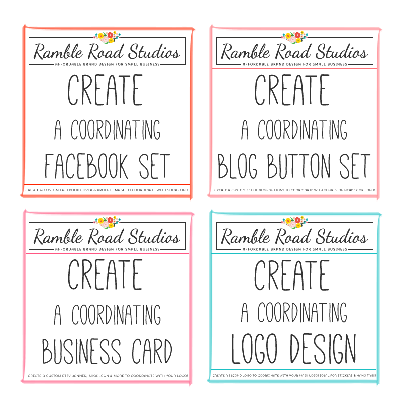 Coordinating Branding and Marketing Design at Ramble Road Studios