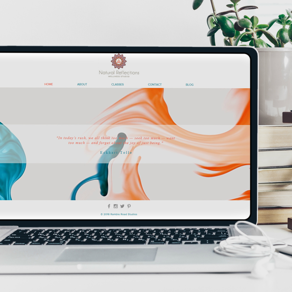 Premade Wix Yoga Website Template - Five pages including Online ...