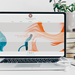 premade wix yoga website template five pages including online