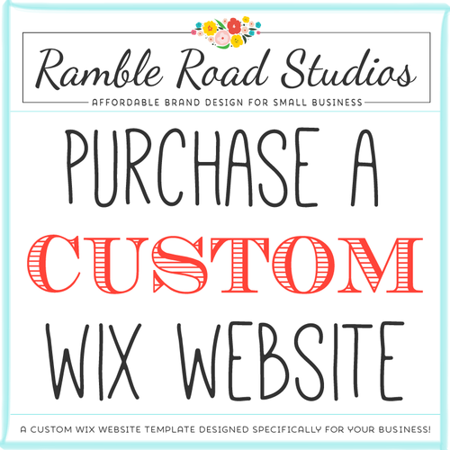 Custom Wix Website Template Ramble Road Studios - Wix privacy policy template