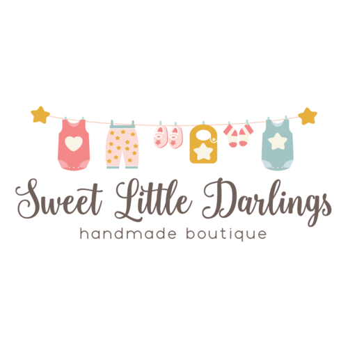 Baby Clothing Premade Logo Design Customized With Your Business