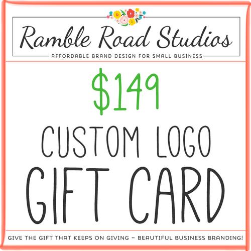 Custom logo gift card give the gift of beautiful business branding custom logo gift card give the gift of beautiful business branding colourmoves