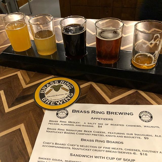Soft opening of #brassring so so excited to have this place opening right in my neighborhood! #brassring #algerheights #beer
