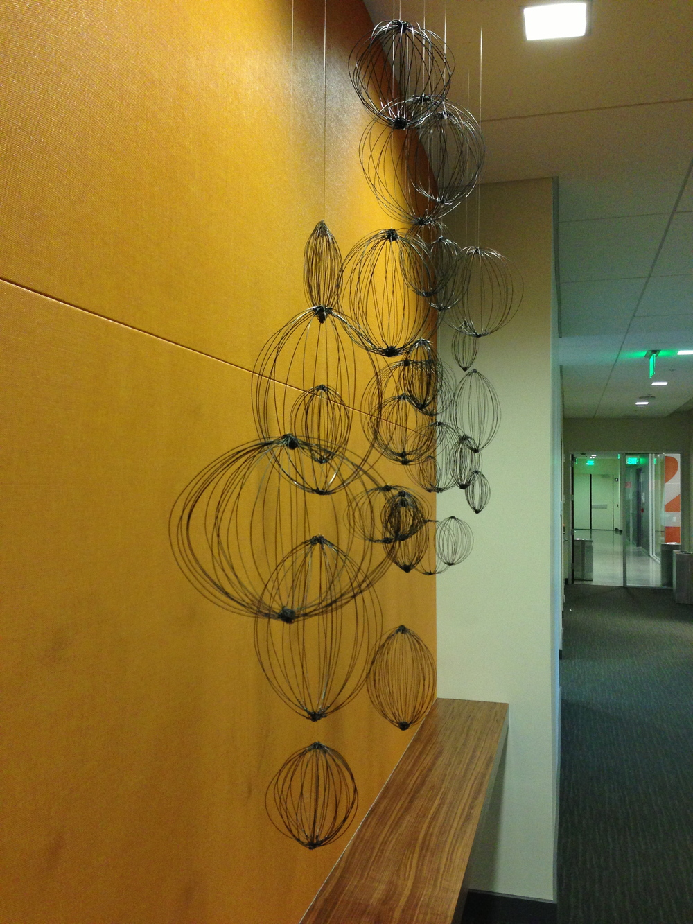 """Seed"" at Juniper Networks, Sunnyvale, 2013, permanent installation"