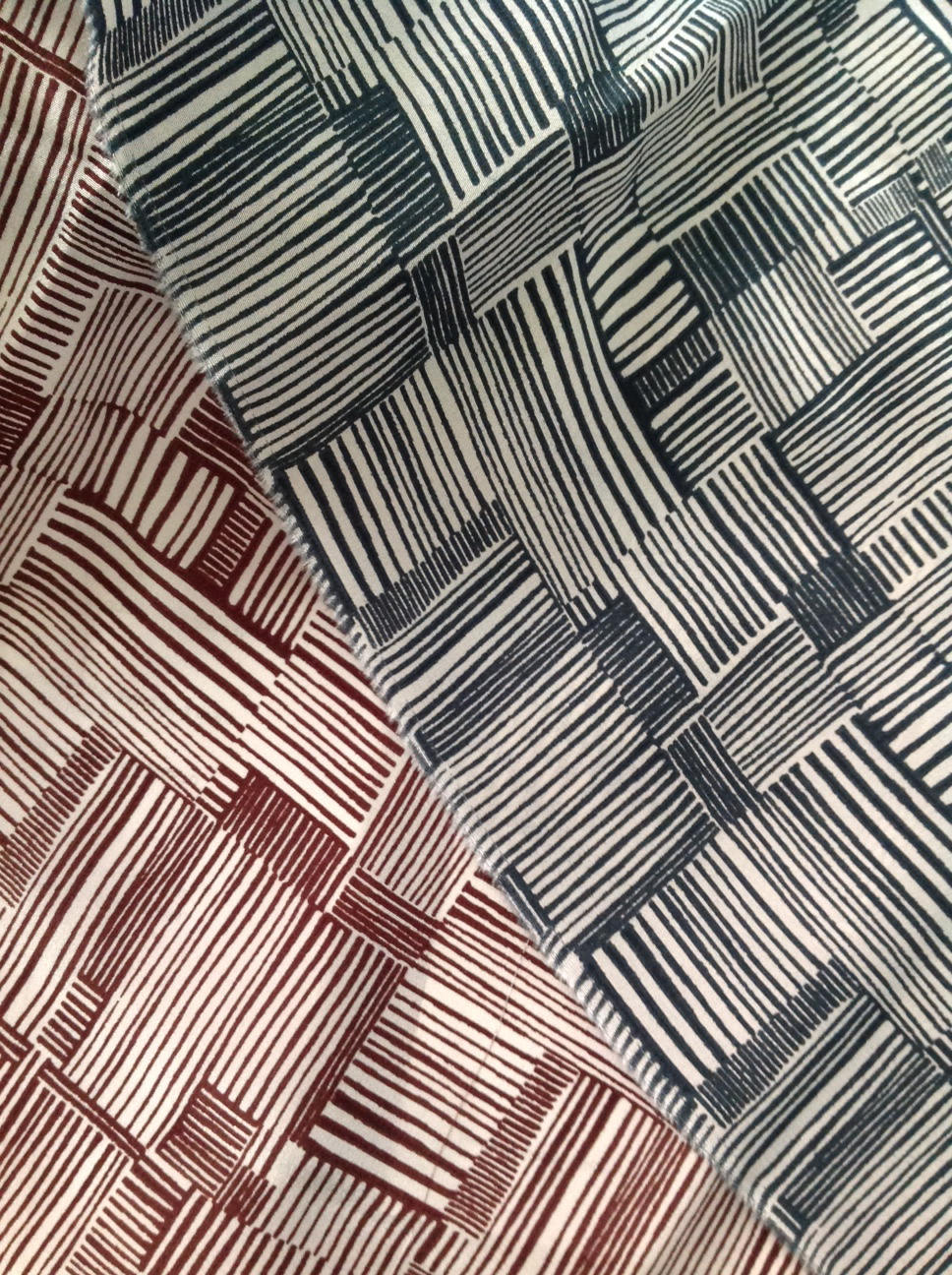 "Erica Tanov ""Lately"" fabric design, second collaboration for Fall/Winter 2015"
