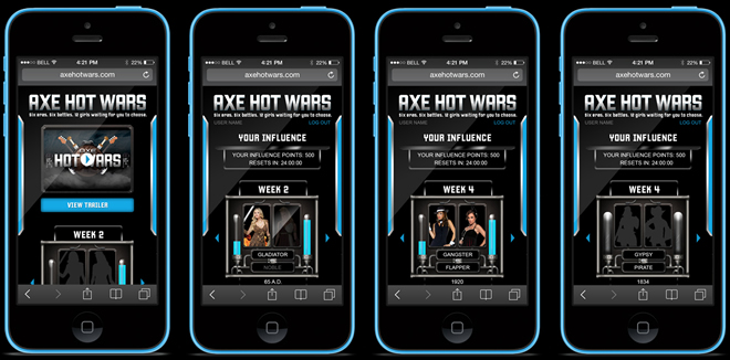 AXE - Hot Wars Mobile Companion
