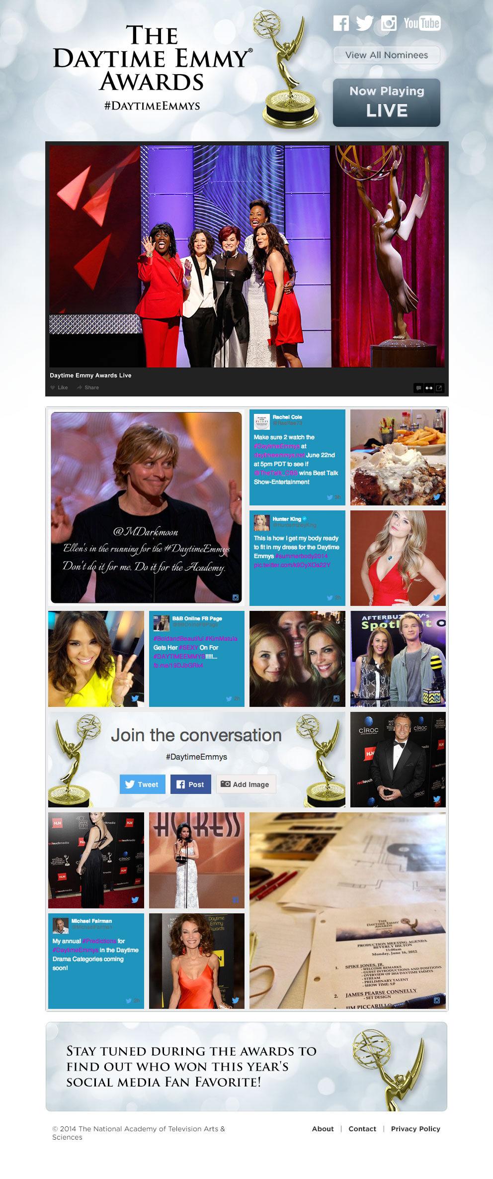 Daytime Emmy Live Stream Site