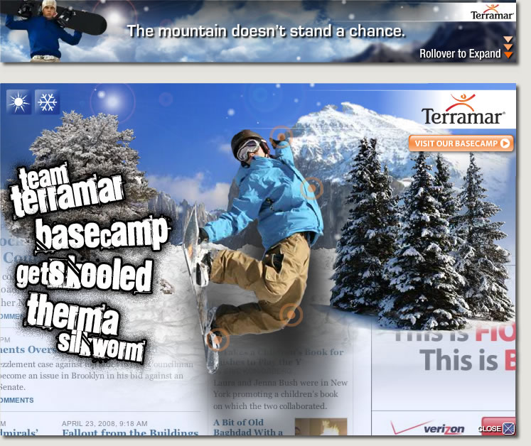 Terramar Interactive Rich Media Banner
